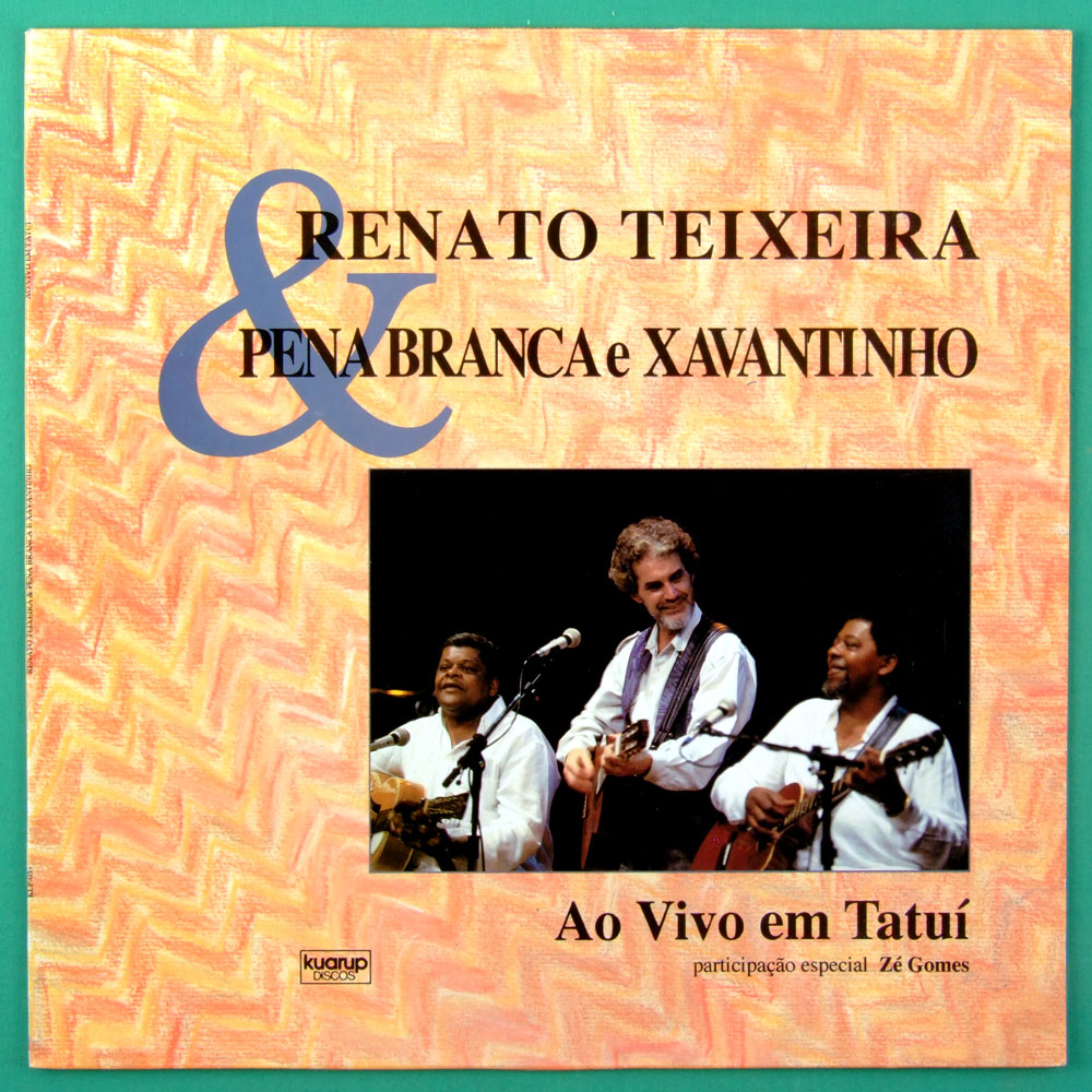 LP RENATO TEIXEIRA PENA BRANCA XAVANTINHO 1992 FOLK BRAZIL
