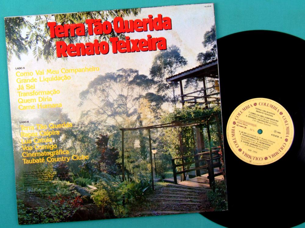 LP RENATO TEIXEIRA TERRA TAO QUERIDA 1985 REGIONAL BRAZIL