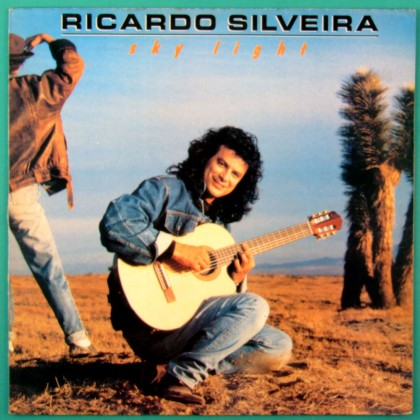 LP RICARDO SILVEIRA SKY LIGHT 1989 JAZZ FUSION GUITAR INSTRUMENTAL BRAZIL