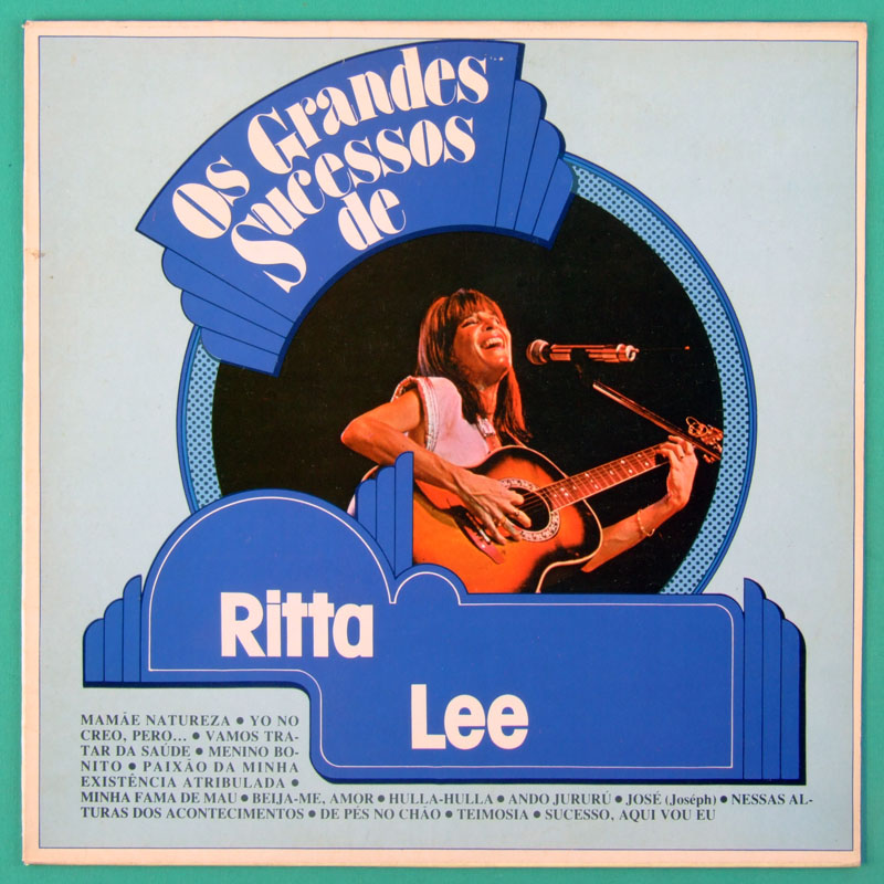 LP RITA LEE GRANDES SUCESSOS UNRELEASED TRACKS MUTANTES CILIBRINAS DO EDEN BRAZIL