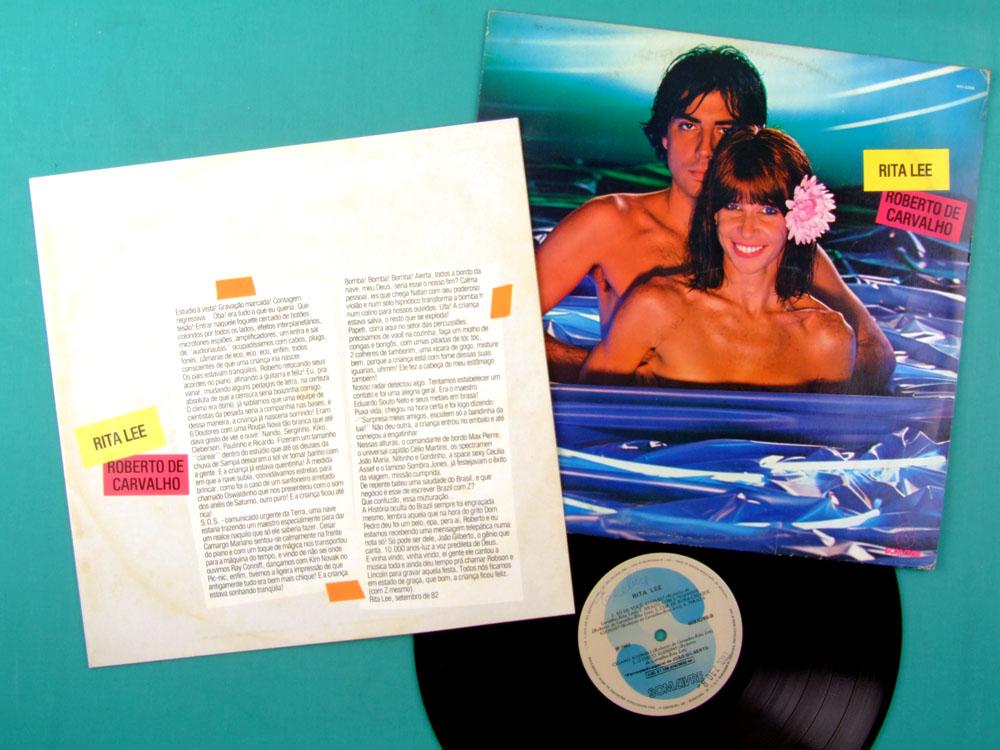 LP RITA LEE ROBERTO DE CARVALHO 1982 MUTANTES SOFT BRAZIL