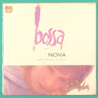 LP ROBERTO MENESCAL A BOSSA NOVA 1964 JAZZ SAMBA BACK COLORED LABEL BRAZIL