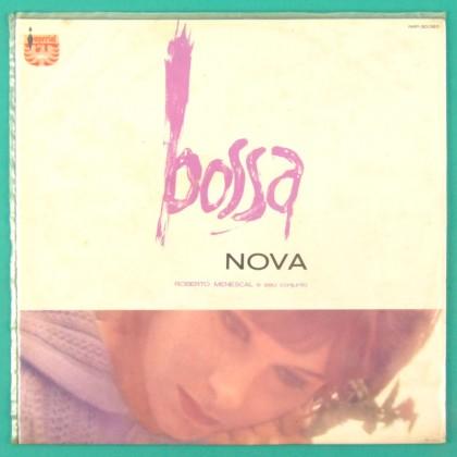 LP ROBERTO MENESCAL A BOSSA NOVA 1964 JAZZ SAMBA FOLK BLUE LABEL BRAZIL