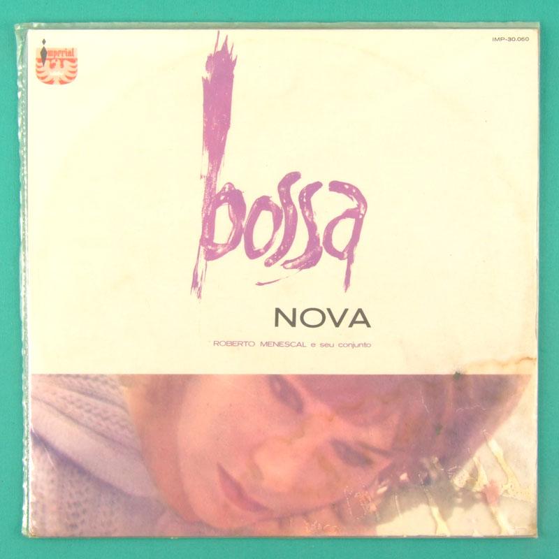 LP ROBERTO MENESCAL A BOSSA NOVA 1964 JAZZ SAMBA RED LABEL BRAZIL