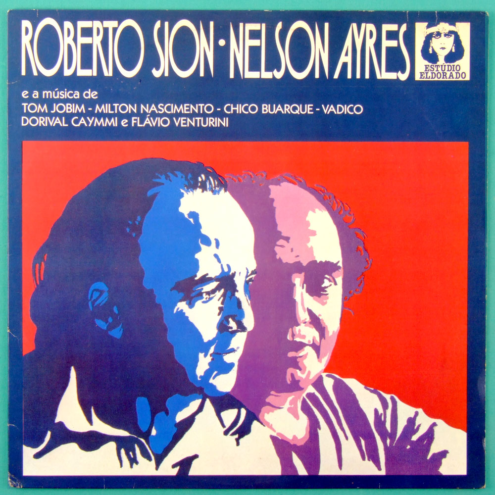 LP ROBERTO SION NELSON AYRES 1977 BOSSA JAZZ SAMBA BRAZIL