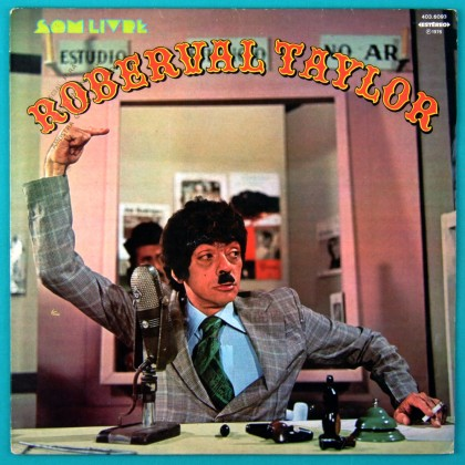 LP CHICO ANISIO ROBERVAL TAYLOR 1976 TV HUMOR OST BRAZIL