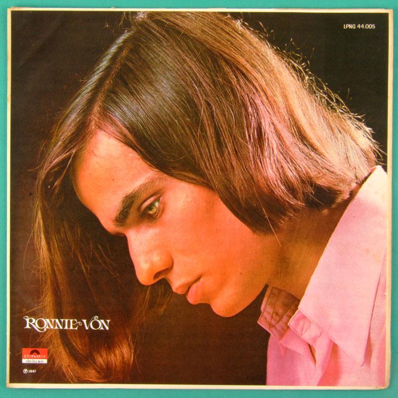 LP RONNIE VON 2ND 1967 ROCK POP BEAT FOLK GARAGE BRAZIL