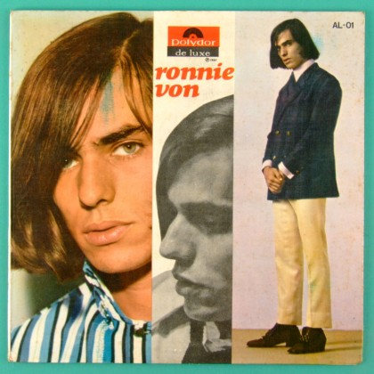 LP RONNIE VON 1967 MUTANTES CAETANO VELOSO BEAT PSYCH FOLK POKORA BRAZIL
