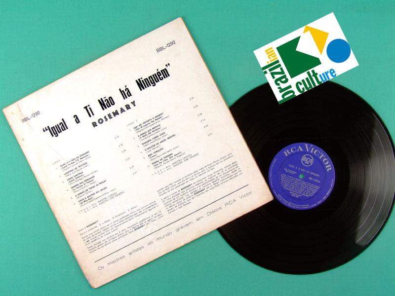 LP ROSEMARY IGUAL A TI NAO HA NINGUEM 1964 JOVEM GUARDA BEAT FOLK  BRAZIL