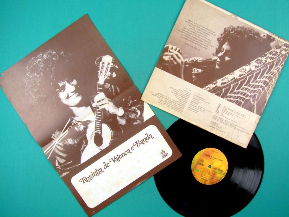 LP ROSINHA DE VALENCA E BANDA AO VIVO 1975 BOSSA JAZZ GUITAR BRAZIL