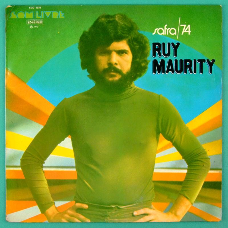 LP RUY MAURITY SAFRA 74 FOLK GROOVE 1973 MELLOW BOSSA BRAZIL