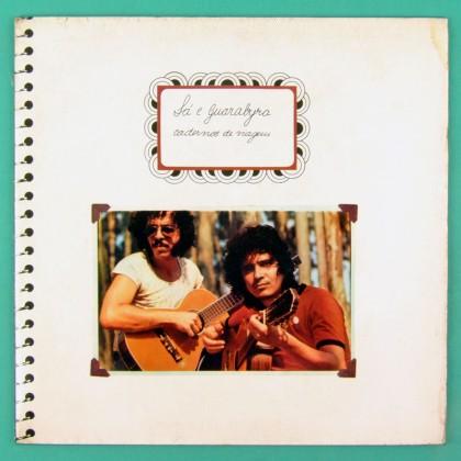 LP SA & GUARABYRA CADERNOS DE VIAGEM 1975 ROGERIO DUPRAT O TERCO FOLK PSYCH BRAZIL