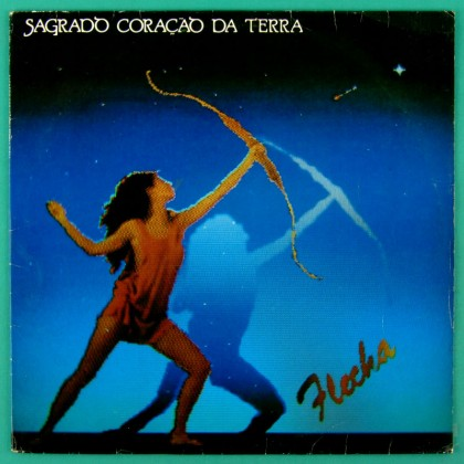 LP SAGRADO CORACAO DA TERRA FLECHA 1988 MARCUS VIANA BRAZIL
