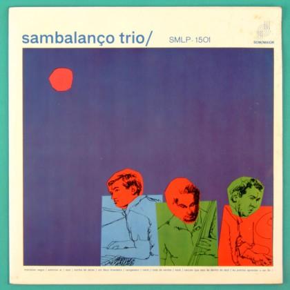 LP SAMBALANCO TRIO 1965 SOM MAIOR JAZZ BRAZIL