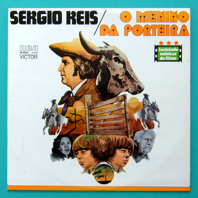 LP SERGIO REIS  MENINO DA PORTEIRA 1977 REGIONAL FOLK BRAZIL