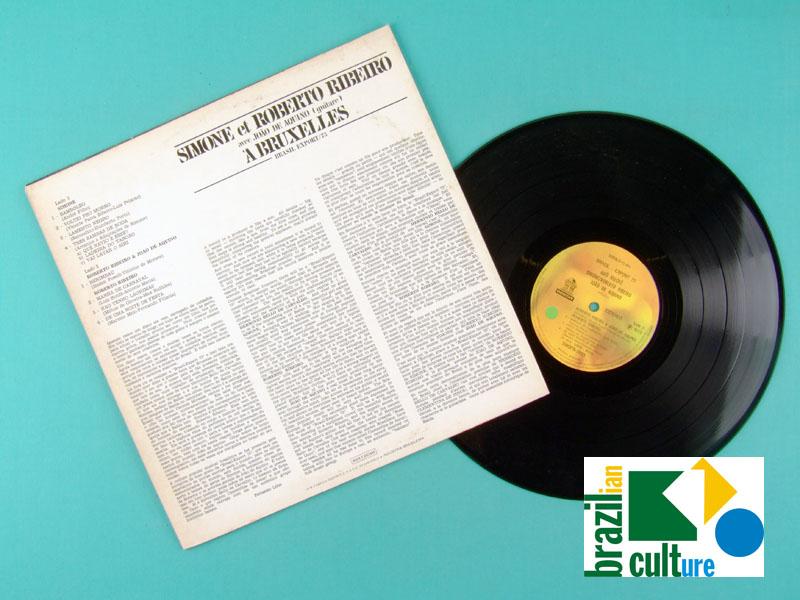 LP SIMONE ET ROBERTO RIBEIRO A BRUXELLAS 1973 BRAZIL