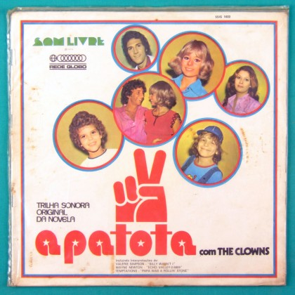 LP SOAP A PATOTA 1972 THE CLOWNS VALERIE SIMPSON WAYNE NEWTON TEMPTATIONS BRAZIL