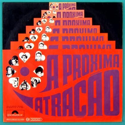 LP SOAP A PROXIMA ATRACAO 1970 1 EDICAO DUPRAT VEROCAI BOSSA BRAZIL
