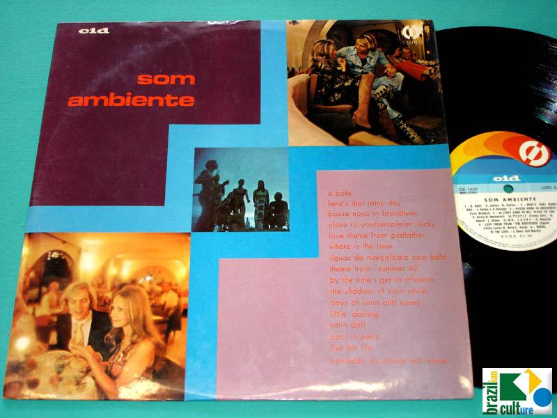 LP SOM AMBIENTE 1972 AZYMUTH BERTRAMI SOUL FUNK GROOVE BOSSA JAZZ ORGAN DJ BRAZIL