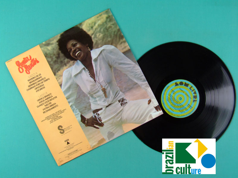 LP SONIA SANTOS 1975 SAMBA SOUL GROOVE BRAZIL