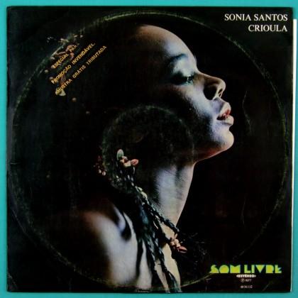 LP SONIA SANTOS CRIOULA 1977 SAMBA GROOVE FUNK BRAZIL
