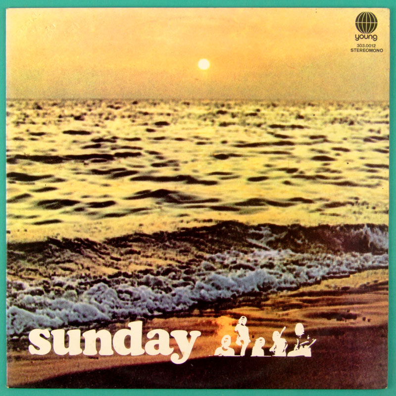 LP SUNDAY 1972 PSYCH FOLK OBSCURE FUZZ GROOVE BRASIL