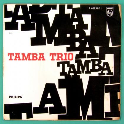 LP TAMBA TRIO 1966 BOSSA NOVA JAZZ FOLK LUIZ ECA BRASIL