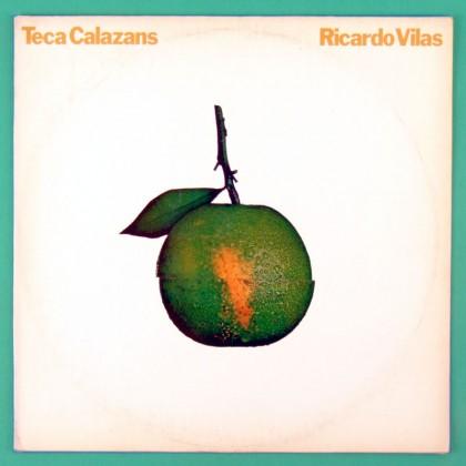 LP TECA & RICARDO VILAS TECA CALAZANS EU NAO SOU DOIS 1981 FOLK REGIONAL SAMBA PRIVATE BRASIL
