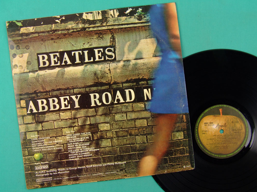 LP THE BEATLES ABBEY ROAD STEREO PSYCH ROCK POP  BRAZIL