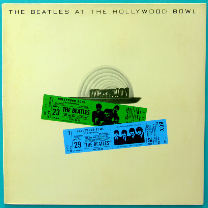 LP THE BEATLES AT THE HOLLYWOOD BOWL 2ND ROCK 1977 BRAZIL