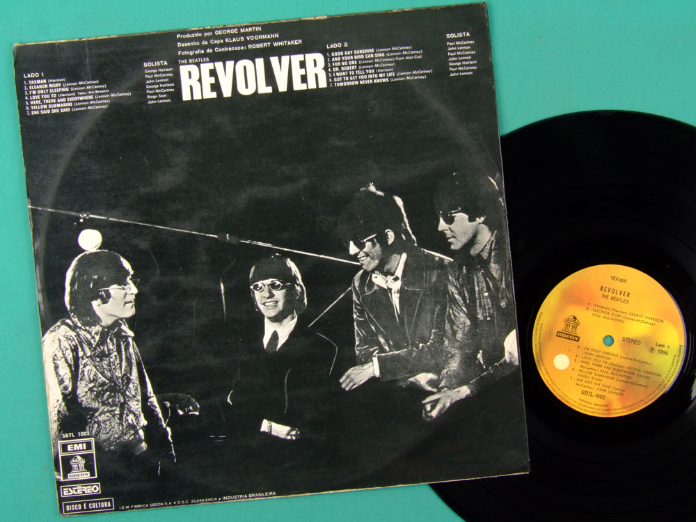 LP THE BEATLES REVOLVER BEAT YELLOW LABEL STEREO BRAZIL