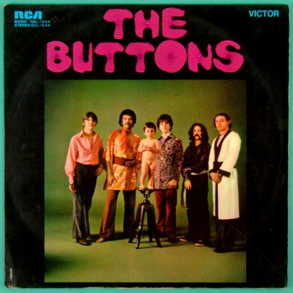 LP THE BUTTONS 1970 DAVE MACLEAN PSYCH POKORA FOLK FUZZ CULT BRAZIL