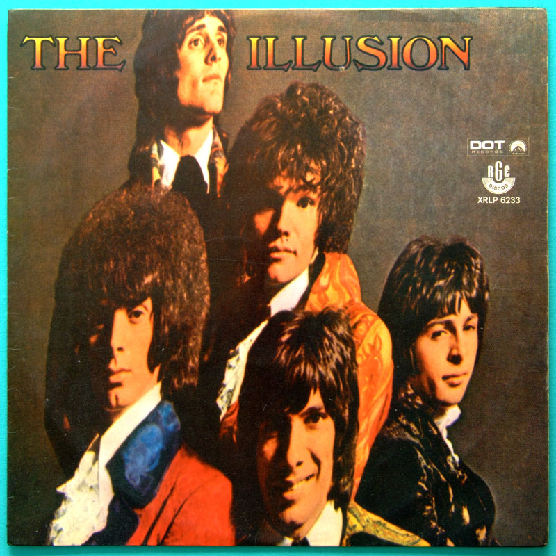 LP THE ILLUSION ROCK PSYCH BEAT 1969 MONO DOT POKORA RGE BRAZIL