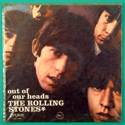 LP THE ROLLING STONES OUT OF OUR HEADS 1966 MONO BEAT GARAGE PSYCH BRAZIL