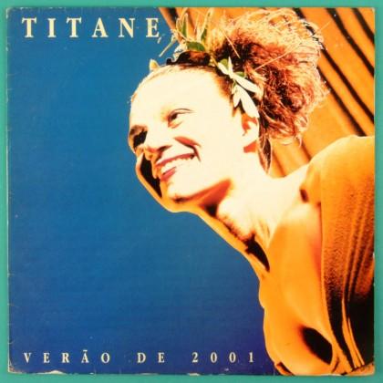 LP TITANE VERAO DE 2001 1990 SIGNED FOLK MINAS BRAZIL
