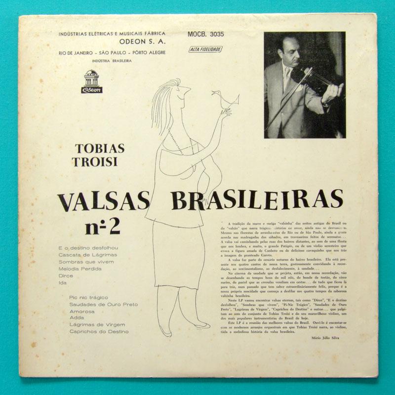 LP TOBIAS TROISI VALSAS BRASILEIRAS 2 WALTZ FOLK BRASIL
