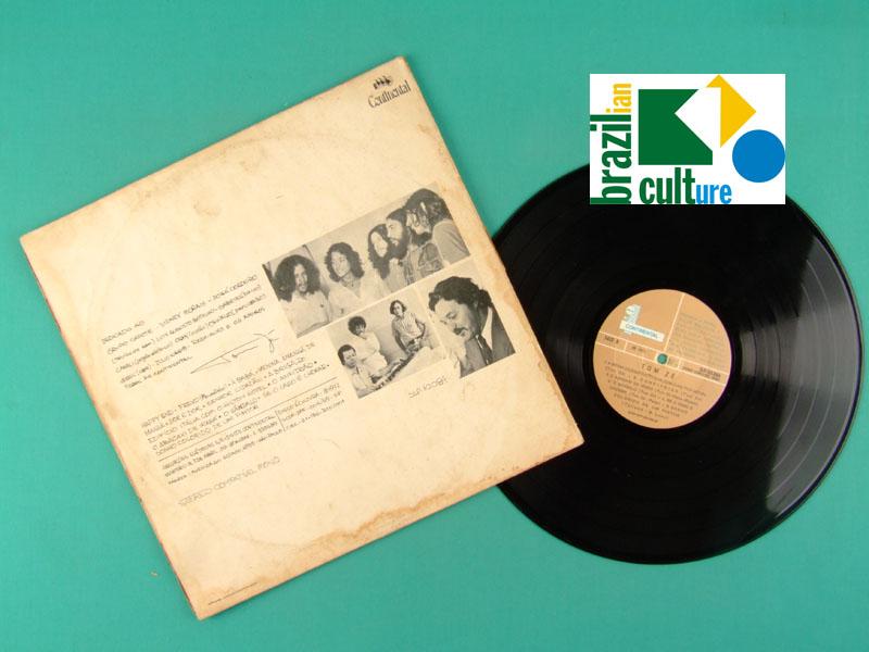 LP TOM ZE 1972 ORIGINAL GATEFOLD GRUPO CAPOTE TROPICALIA SAMBA FOLK PSYCH BRAZIL