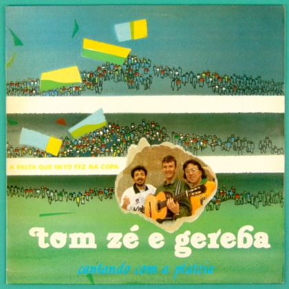 LP TOM ZE GEREBA NETO CANTANDO COM A PLATEIA 1990 PRIVATE INDIE TROPICALIA FOLK CULT PSYCH OBSCURE BRAZIL