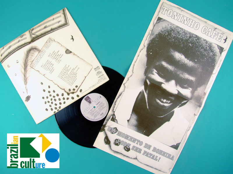 LP TONINHO CAFE 1978 FOLK SOUL GROOVE JAZZY BRAZIL
