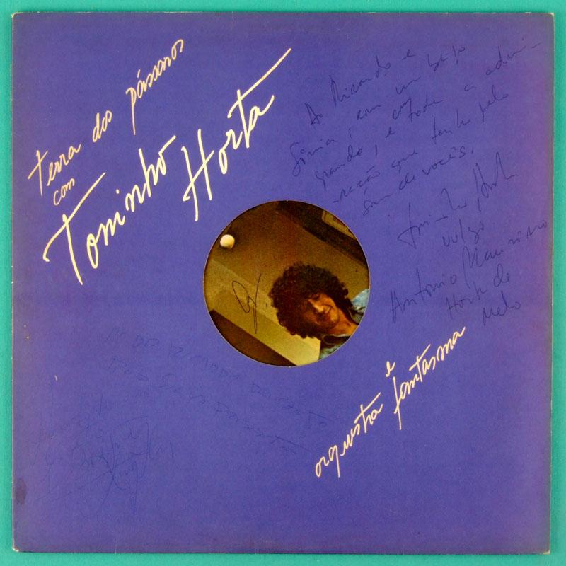LP TONINHO HORTA TERRA DOS PASSAROS 1980 SIGNED MINAS JAZZ FOLK BRASIL