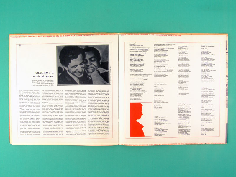 LP TORQUATO NETO 1985 TROPICALIA GAL COSTA GILBERTO GIL CAETANO VELOSO ELIS REGINA NARA LEAO JARDS MACALE PRIVATE BRAZIL