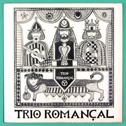 LP TRIO ROMANÇAL BRASILEIRO MOVIMENTO ARMORIAL ARIANO SUASSUNA FOLK REGIONAL CULT BRAZIL