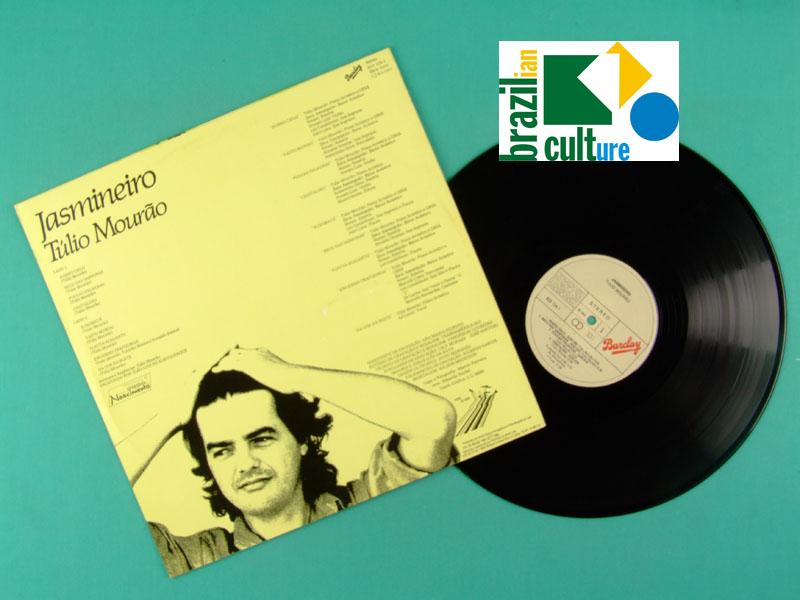 LP TULIO MOURAO JASMINEIRO 1984 JAZZ MINAS BOSSA BRAZIL