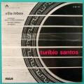 LP TURIBIO SANTOS VILLA-LOBOS 1971 ERUDITE INSTRUMENTAL GUITAR SOLO PRELUDIOS BRAZIL
