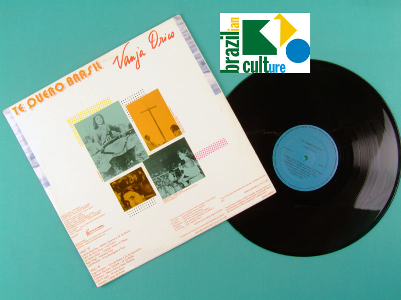 LP VANJA ORICO TE QUERO BRASIL 1978 NORTHEASTERN FOLK BRAZIL
