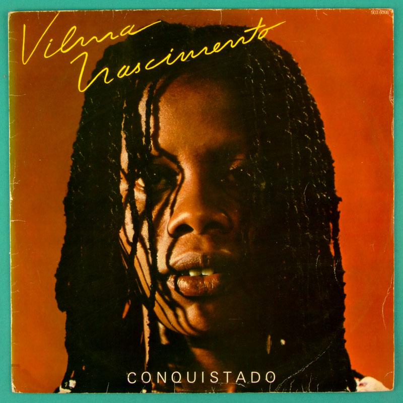 LP VILMA NASCIMENTO CONQUISTADO 1980 AFRO FOLK SIGNED BRAZIL