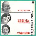LP VINICIUS DE MORAES MARILIA MEDALHA TOQUINHO COMO DIZIA O POETA 1971 BOSSA SAMBA BRAZIL