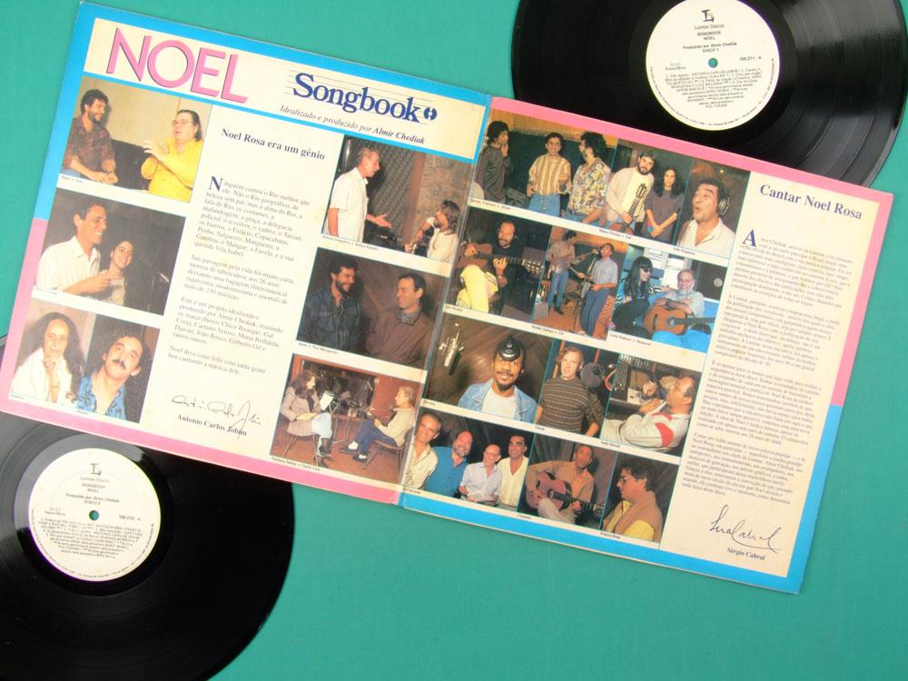LP SONGBOOK NOEL ROSA DJAVAN TOM JOBIM GAL COSTA MACALE GILBERTO GIL CAETANO VELOSO BRAZIL