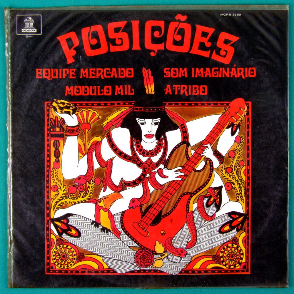 LP POSICOES MODULO MIL 1000 TRIBO EQUIPE MERCADO PSYCH FOLK ROCK PROG 1ST BRAZIL