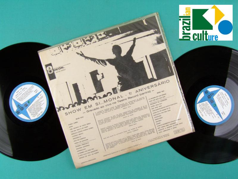 LP WILSON SIMONAL SHOW SOM 3 TRES 1967 BOSSA JAZZ SOUL BRAZIL
